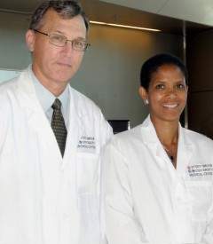 Drs. Thomas V. Bilfinger and Allison J. McLarty, Our Thoracic Surgeons