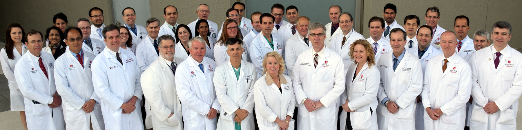 Faculty of the Department of Surgery at Stony Brook Medicine