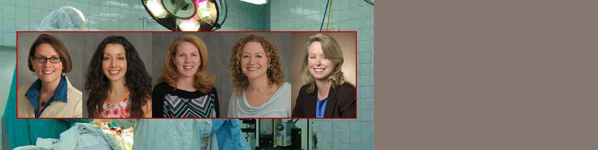 Surgery is a leader at Stony Brook and helping to close the gender gap in the profession