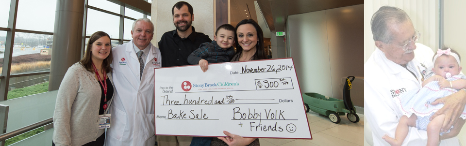 4-year-old former surgery patient held bake-sale fundraiser and gives back to Stony Brook Children's just before Thanksgiving