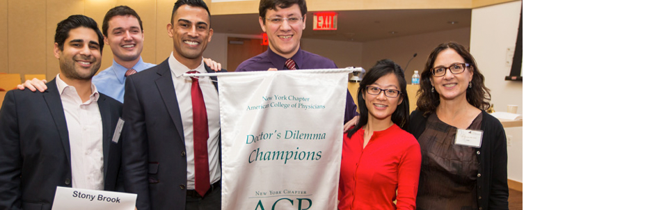 Stony Brook Internal Medicine Residents win Doctor's Dilemma Competition