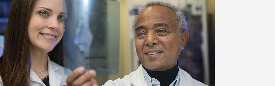 Berhane Ghebrehiwet has guided future biomedical scientists at Stony Brook for 35 years