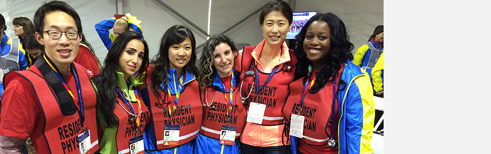 From left to right: Sean Hsu, Lily Sadri, Christine Garcia, Lindsey Schachter, Kristine Jang and Ayanna Lewis
